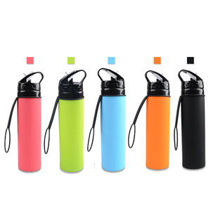 Hot Sale Children Drinks Bottled Drinking Water Borraccia Silicone