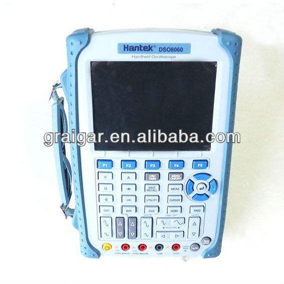 HANTEK DSO8060 Digital Storage Oscilloscope DSO 5.7 LCD 60MHz 2 Channel Handheld Oscilloscope