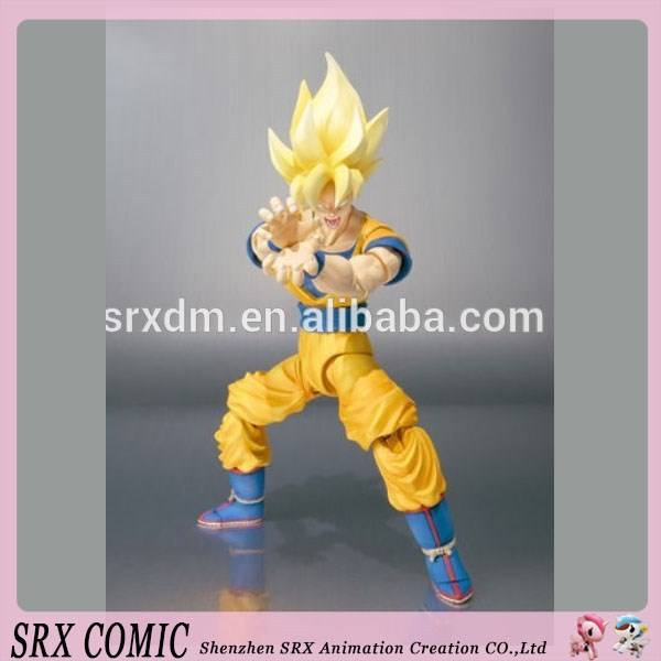 Custom PVC dragon ball z action figure fabriek, aangepaste action figure voor promotionele, PROMOTIONELE action figure fabriek