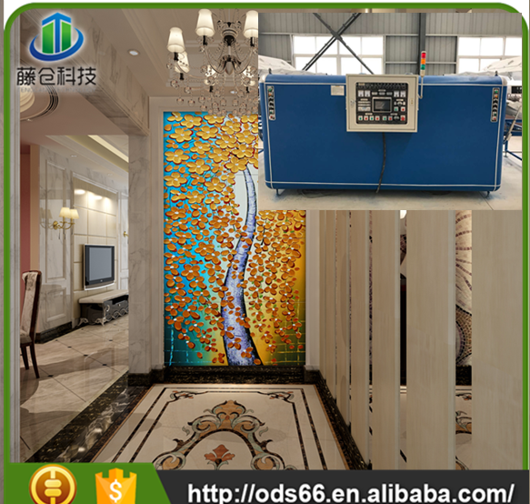 Newly-developed patent ceramic floor tile making machine