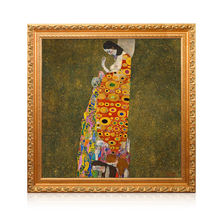 Museum Quality Decorative Hope II Gustav Klimt Famous Reproduction Canvas Paintings