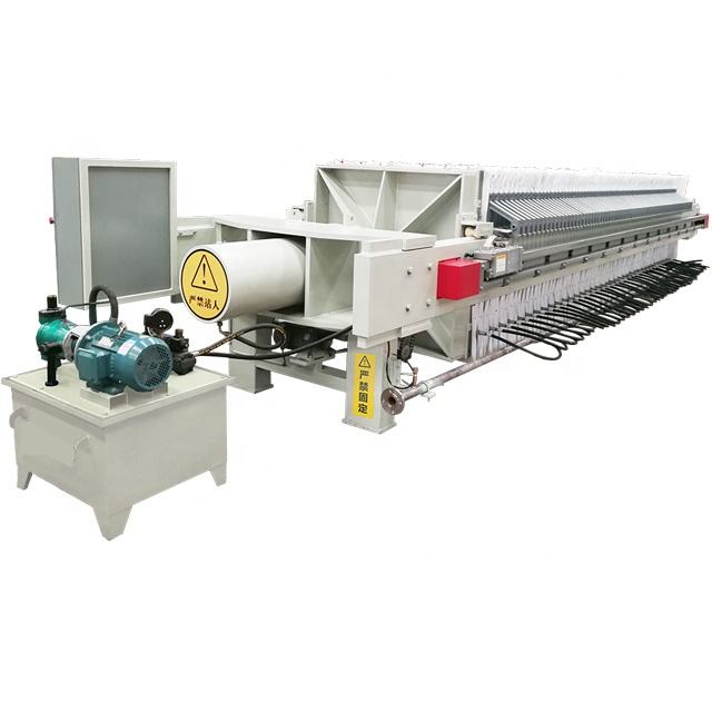 Hot sales Filter Press machine with PLC control high pressure filter