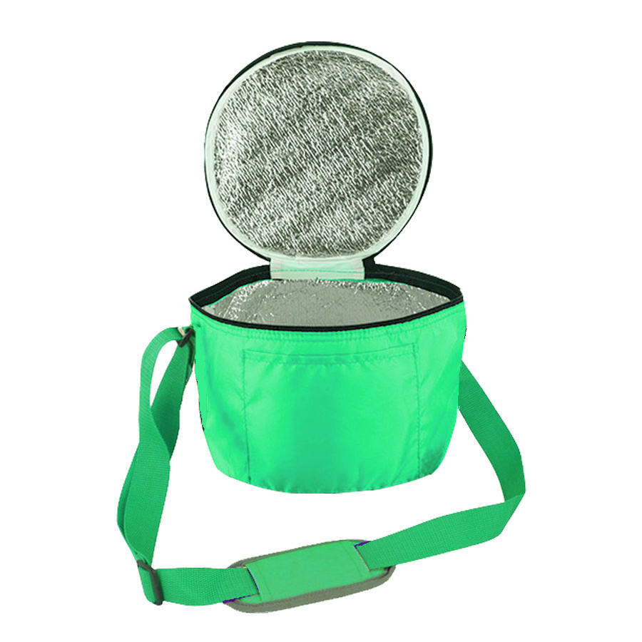 China factory promotional custom spring green round party cooler