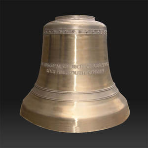 Antique Metal Craft large bronze church bell for sale