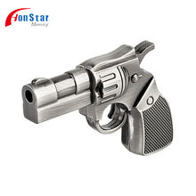 4Gb 8Gb Gun Shape Usb Flash Drive