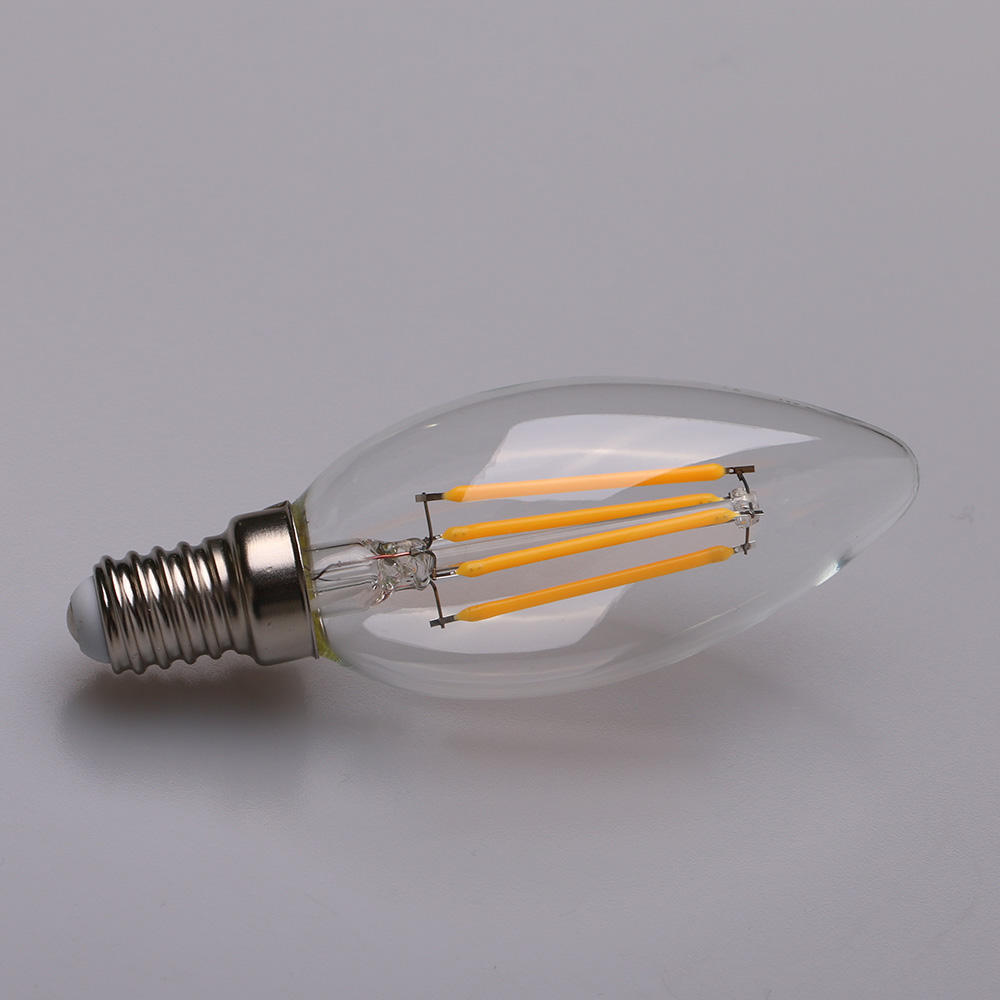 4 Watt Dimbare Filament LED E14 Kaars Lamp