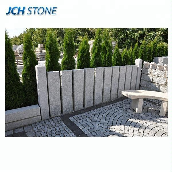 2018 New Granite Stone Palisade fences for sale