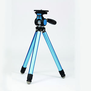FOTORPO 8 sections travel mini aluminum telescopic compact dslr tripod phone camera stand