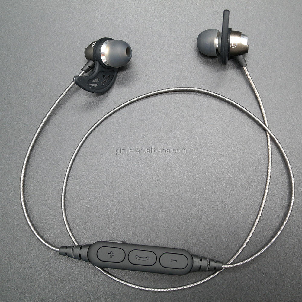 new arrival factory supper bass magnetic metal shell wireless earbud