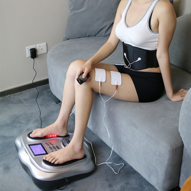 EMS Foot Massager Foot Circulation Device- Boost Circulation & Relief Aching Feet Legs