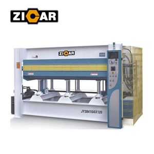 ZICAR JY3848AX120 Hydraulic Hot Press Machine / Wooden door Making Machine