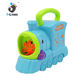 Kid soap machine maker bubble train toy