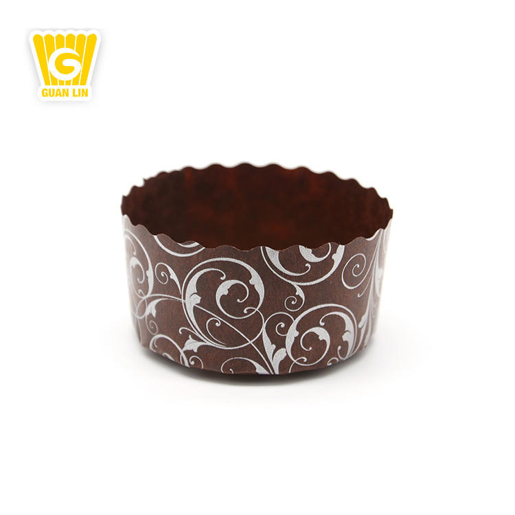 Panadería directa 50 Marrón Chocolate Muffin Tulip Wraps Cupcake casos papel Wrappers