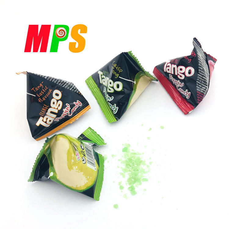 3g Magic fruity flavor popping rock candy