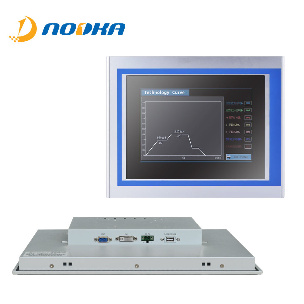 Resistive Touch Screen 15 Inch Lcd Monitor Met Dvi Vga RS232