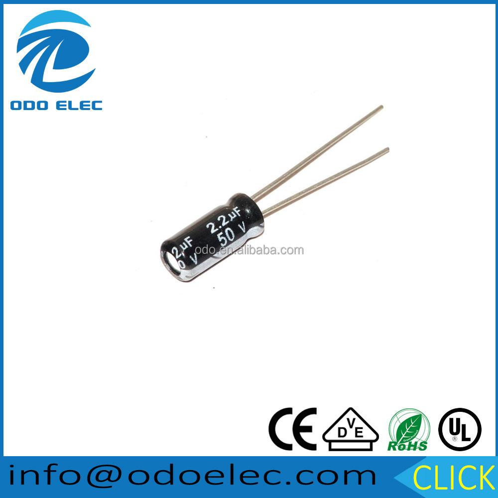 10 20 unidades 3,3uf 50v Elko dip condensador capacitor 5x11mm 5