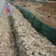 2.7mm Wire Gauge and Galvanized Iron Wire Material gabion mesh GABION FENCE using