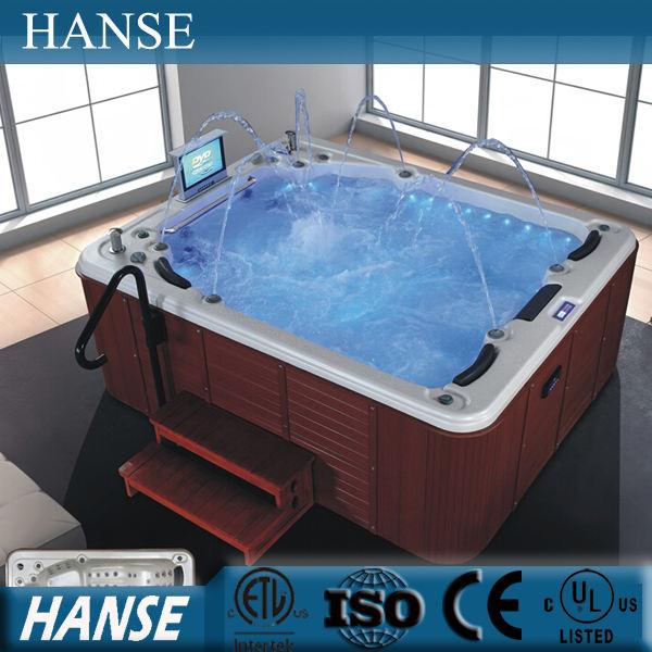 HS-SPA013 hình chữ nhật hot tub spa/lạnh spa bồn tắm nóng