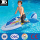 high quality custom made PVC inflatable wave rider safety inflatable jet ski pool float foldable funny swimming pool kids toys