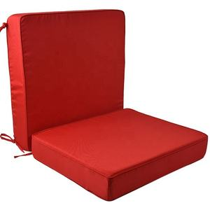 Patio clearance lounge chair cushions outdoor 2 pack waterproof chaise lounge cushion