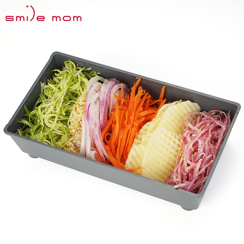 Mandolin Cutter Smile Mom Food Vegetable Cutter Adjustable Kitchen Grater Slicer Professional Mandoline