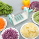 Roller Spiral Mandoline Slicer Manual Vegetable Cutter Potato Julienne Carrot Grater Cheese Slicer Stainless Steel Kitchen Tool