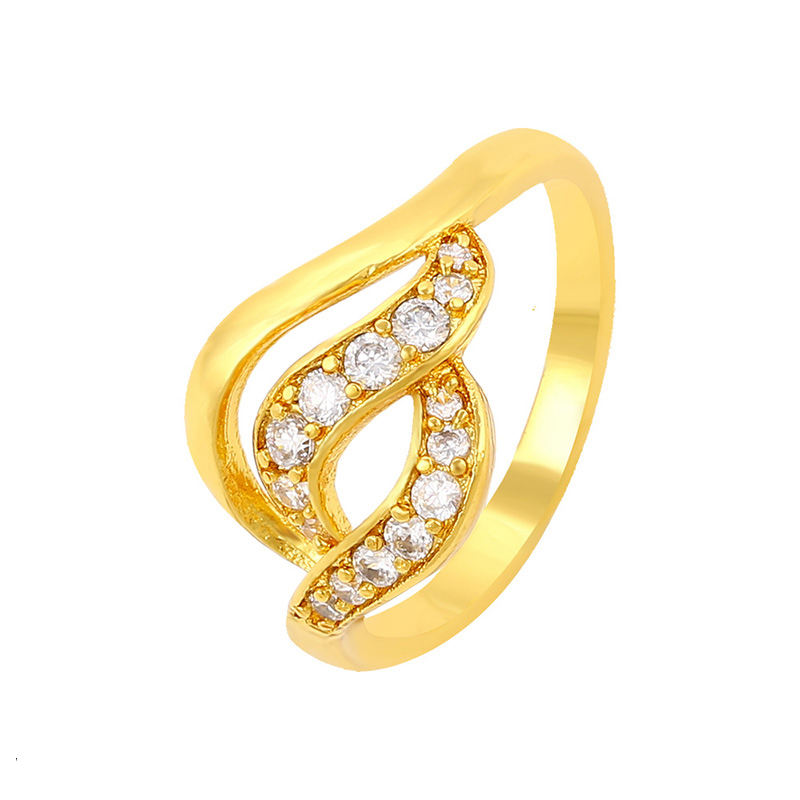 cheap items to sell imitation diamond jewelry gold plated jewellery ring