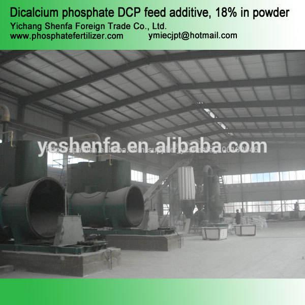 La fábrica más grande de piensos de grado dcp fosfato dicálcico/mcp/mdcp/tcp con buen precio en china