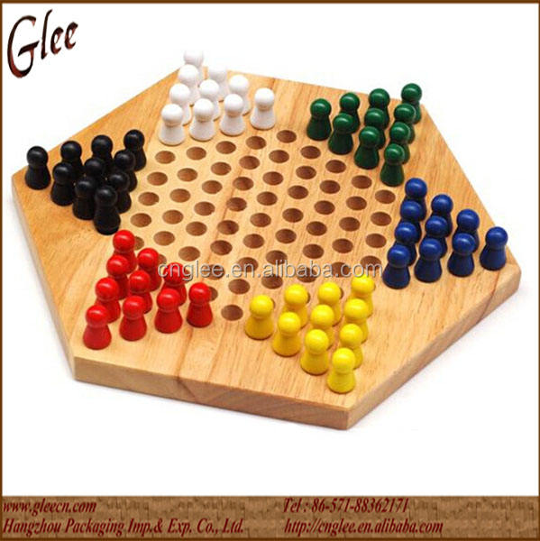 Polygon tocht hout <span class=keywords><strong>checkers</strong></span> schaken games