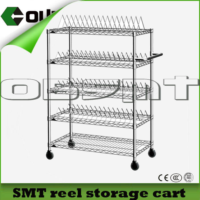 SMT storage cart/SMT tray cart / SMT chips tray storage cart