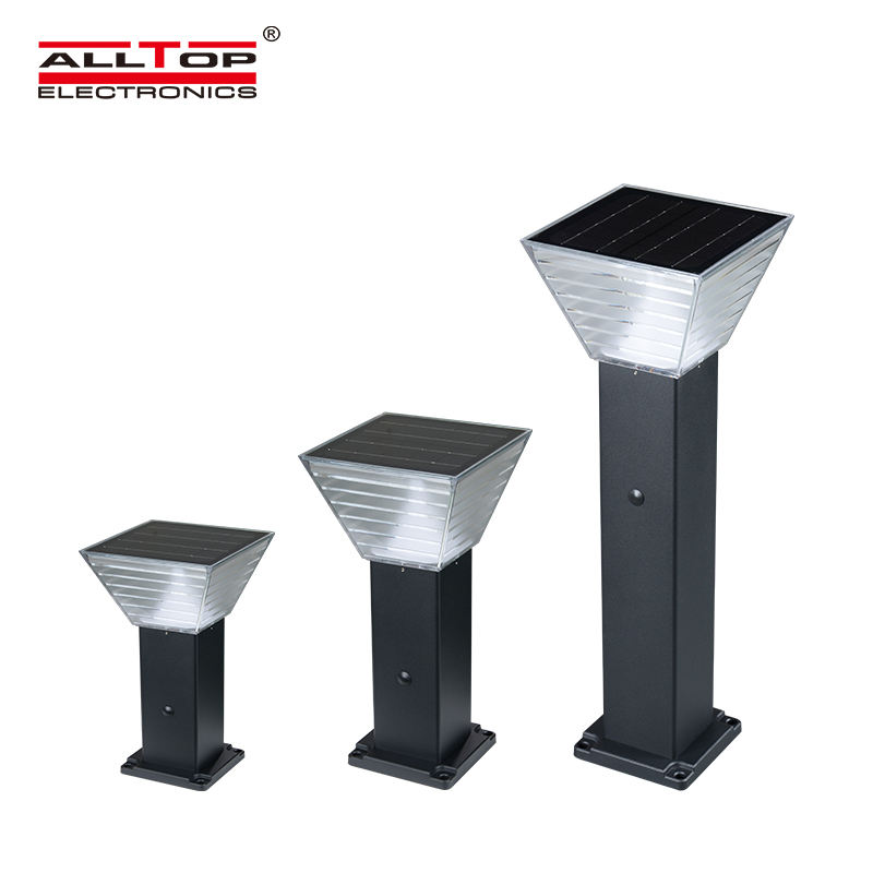ALLTOP China Supplier Product Outdoor Pathway Lawn Decorative Landscape Lamp 5w Led Solar Power Garden Light