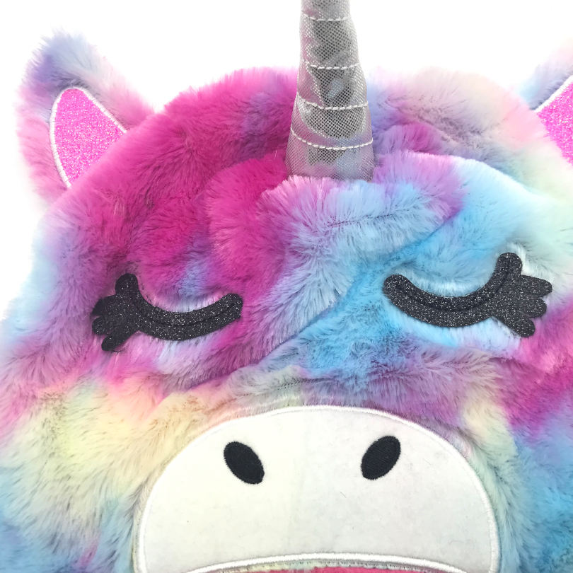 Unicorn children's knitted winter hat manufacturers custom wholesale price concessions