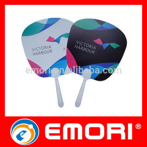 Best selling plastic hand fan sticks useful plastic hand fan