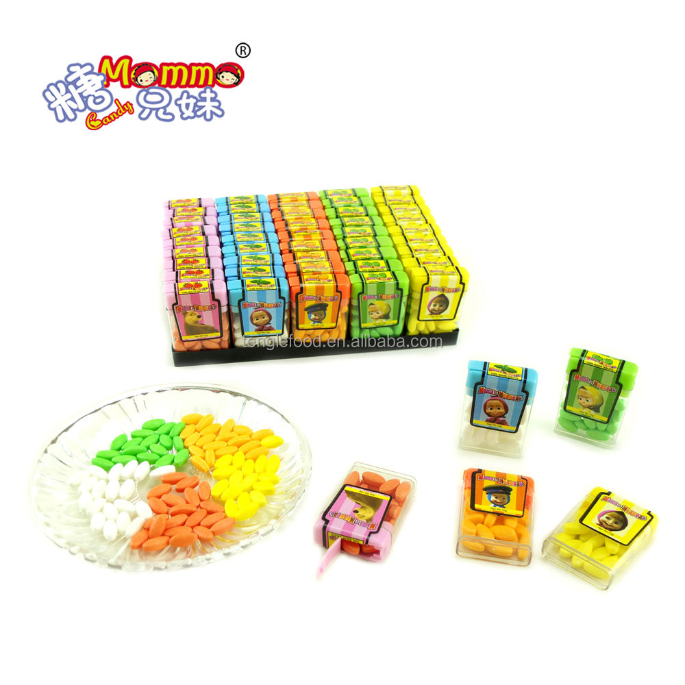VC-046 Sweet Tic Tac fruit Coated Pressed Candy Sweets