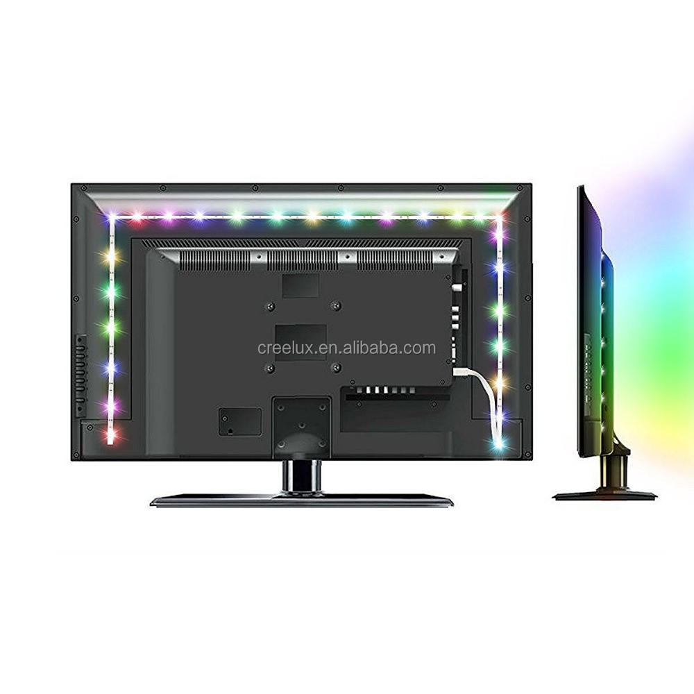 Led Tv Backlight Strip Licht Kit Rgb 5 V Usb Licht Strip Voor Tv/computer/laptop/desktop Pc Backlight Led Strip
