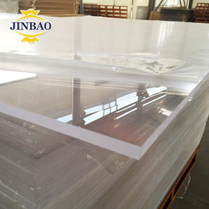 JINBAO best price custom white 1220*1830mm perspex sheet 1.8-30mm clear plexi glass/acrylic panel