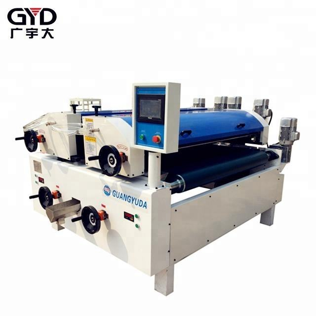 Flat coating equipment series double laser UV IR roller coater machinery for UV/NC/PU paint