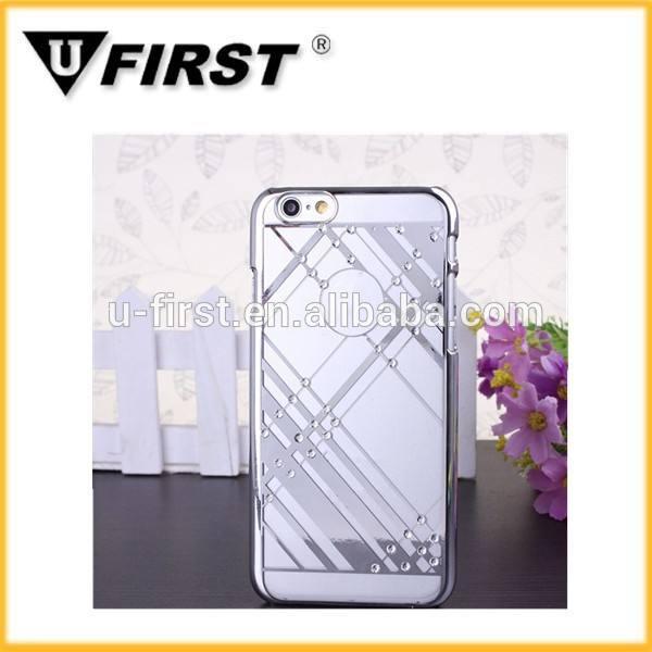 뜨거운 판매 아이폰에 대한 모바일 케이스 5/6 스트라이프 디자인