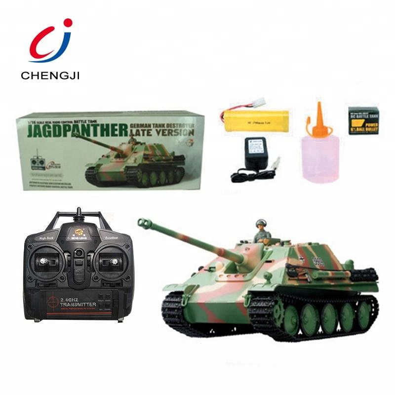 China kids toys 1:17 scale mini simulation military rc battle tank