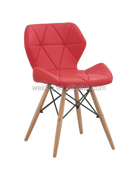 colorful soft and durable lether living room chair