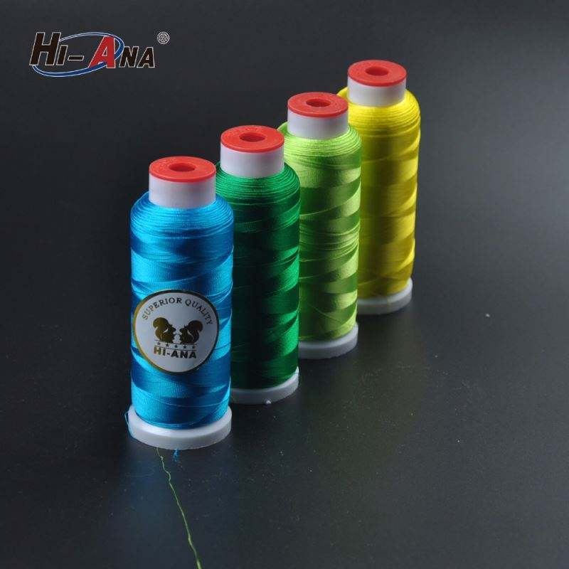 120d 2 Viscose rayon Embroidery Thread Factory
