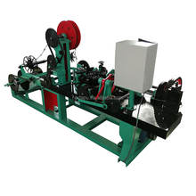 Fully automatic twisted barbed wire machine jiake