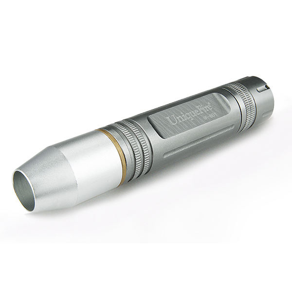 uniquefire rechargeable 3w cree q5 led flashlight gem torch