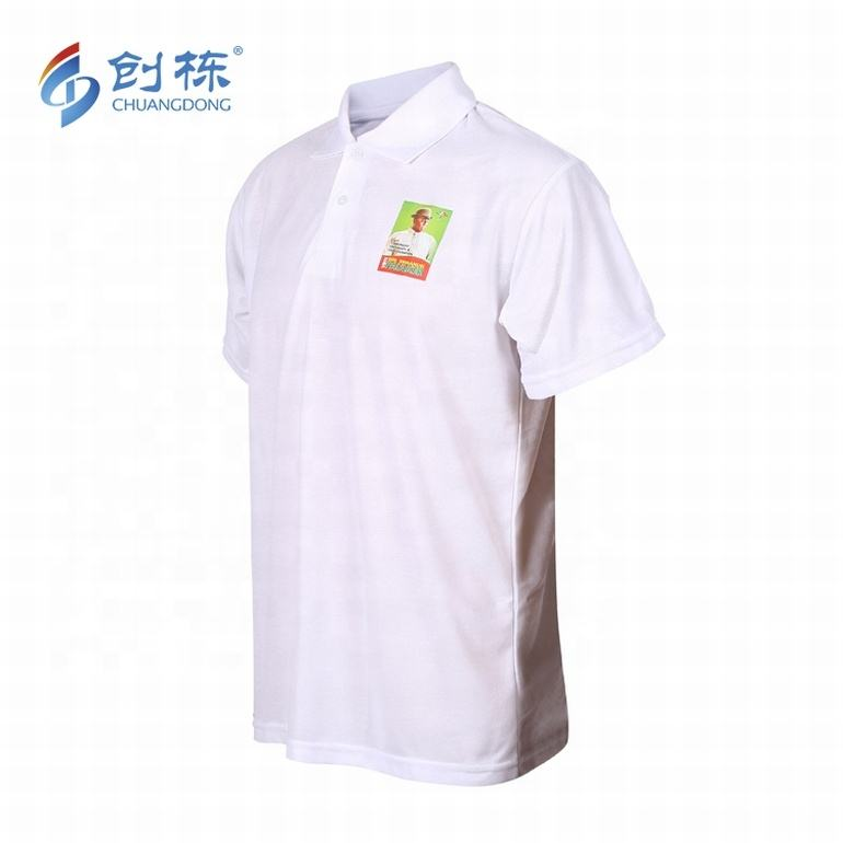 Promotion polo t-shirt 와 풀 custom t shirt printing 도매 striped t-shirt