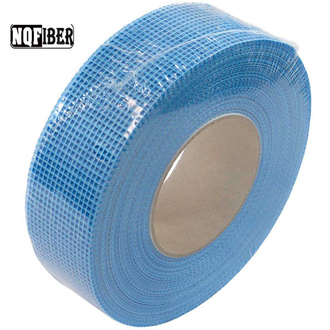 C-galss fiber yarn type fiberglass drywall self-adhesive joint tape for construction