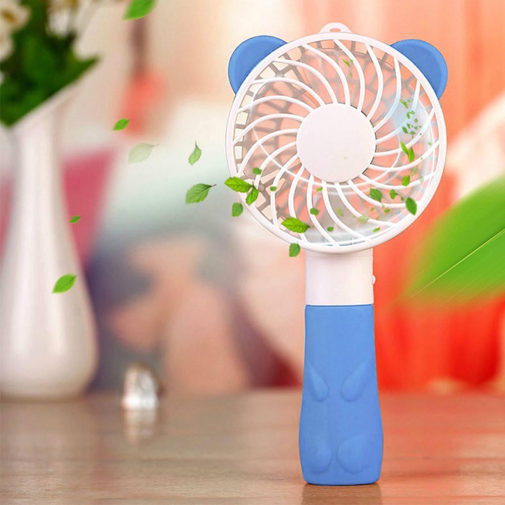 China recargable eléctrica de pie mano ventilador mini protable USB ventilador al aire libre