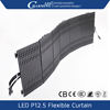flexible led panel video display portable led wall 3d panel for rental
