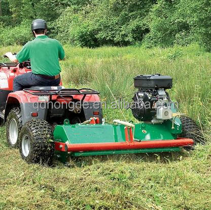 Diesel or Gasoline Optional 15HP ATV Flail Electric Lawn Mower