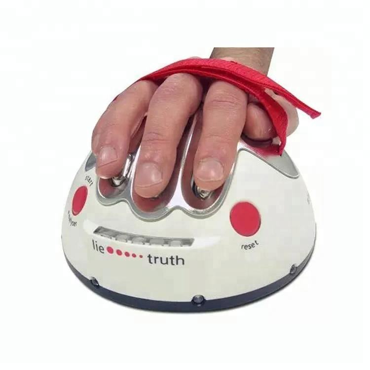 Detector Truth Game Party Game Analyzer Consoles Gifts Funny Polygraph Shocking Liar Micro Electric Shock Lie