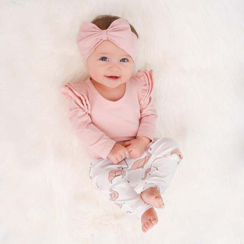 Fashion formal suit baby girl clothes set newborn baby clothing